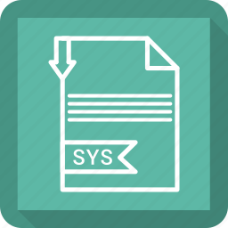 document, extensiom, file, file format, paper, sys icon