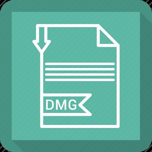 adobe, dmg, document, file icon