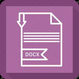 adobe, document, docx, file icon