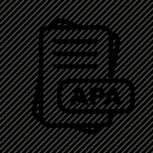 Apa, file, format icon - Download on Iconfinder