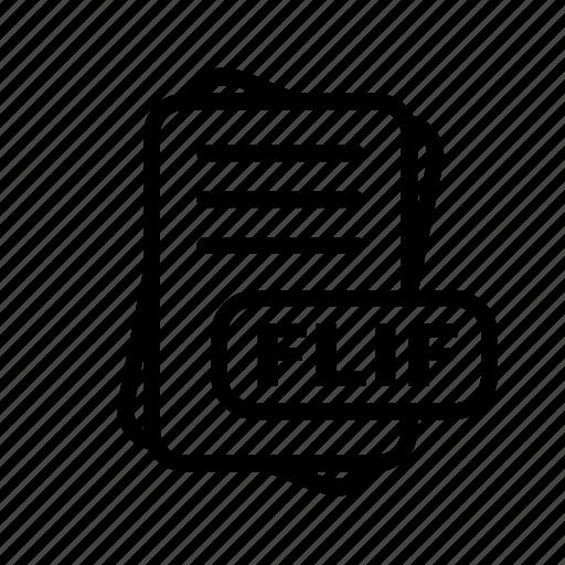 File, flif, format icon - Download on Iconfinder