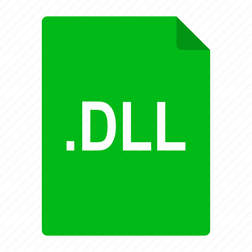 dll, dynamic, file, format, library, link, microsoft icon