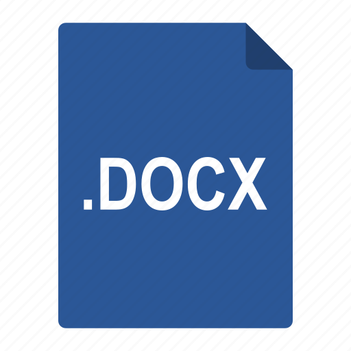 Docx, file, format, microsoft, office, word icon - Download on Iconfinder