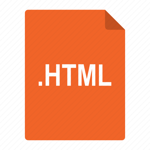 file, format, html, language, pages, standard, web icon