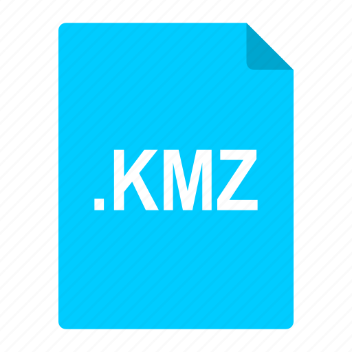 bookmarks, earth, file, format, google, kmz icon
