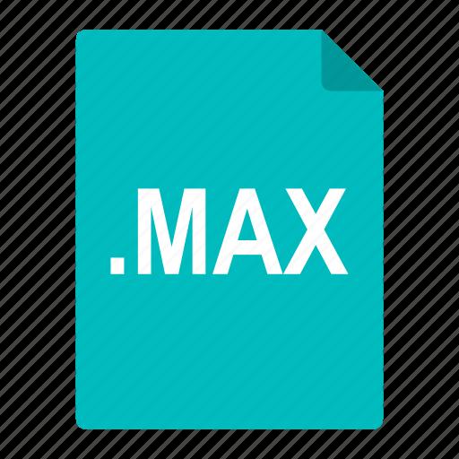 cad, file, format, graphics, max, studio icon