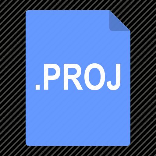builder, file, format, interface, proj, project icon