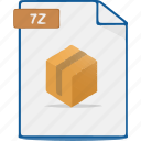file, compress, archive, zip, format icon
