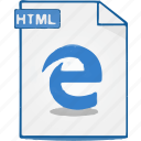 file, format, htm, html, webpage, website icon