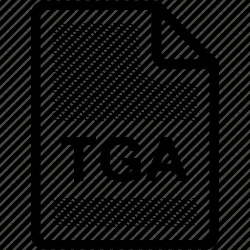 extension, file, file format, format, tga, tga file, type icon