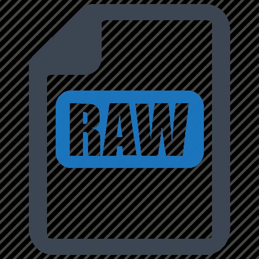 file, format, image, raw file icon