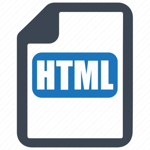 code, file, format, html icon