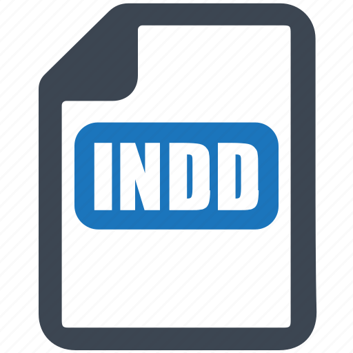 file, format, indd icon