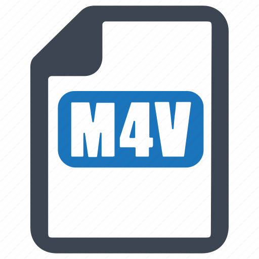 file, format, m4v icon