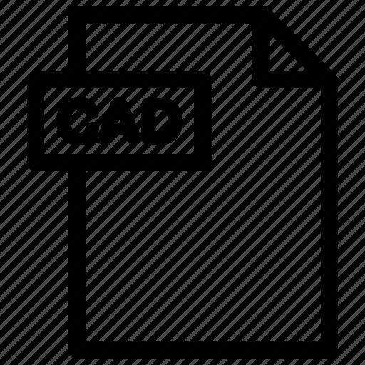 cad, cad file, cad format icon