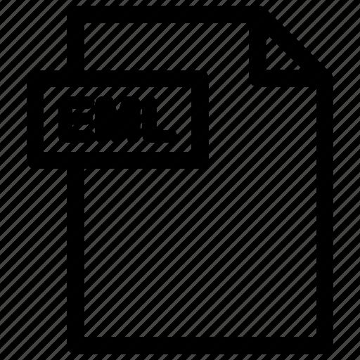 eml, eml file, eml format icon