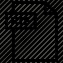 rtf, rtf file, rtf format icon