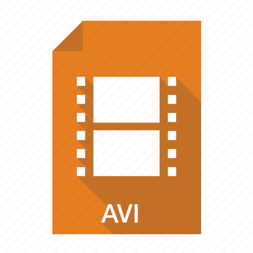avi, extension, file, film, format, movie, video icon
