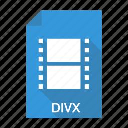 cinema, divx, film, movie, video icon