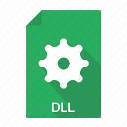 dll, dynamic, library, link icon