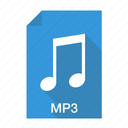 audio, compressed, extension, file, format, mp3, music icon