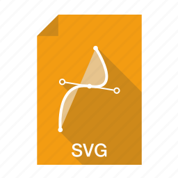 document, extension, file, format, scalable, svg filetype icon