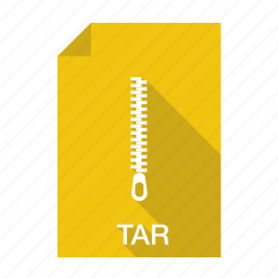 compressed, extension, file, format, tar icon
