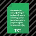 file, text, txt, document, extension, format