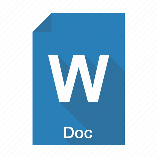 doc, document, documents, extension, file, format, word icon