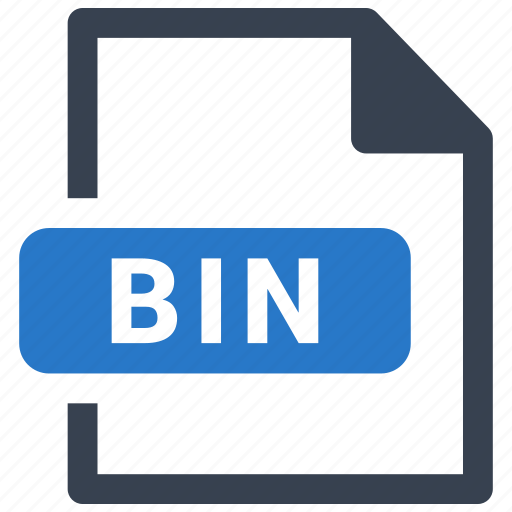 Bin, file, format icon - Download on Iconfinder