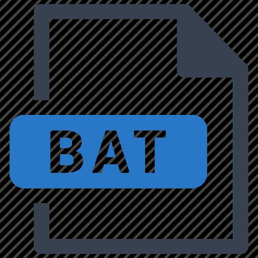 Bat, file, format icon - Download on Iconfinder