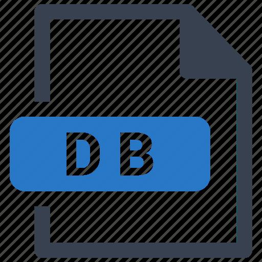 db, file, format icon