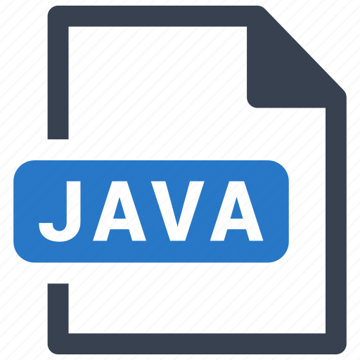file, format, java icon