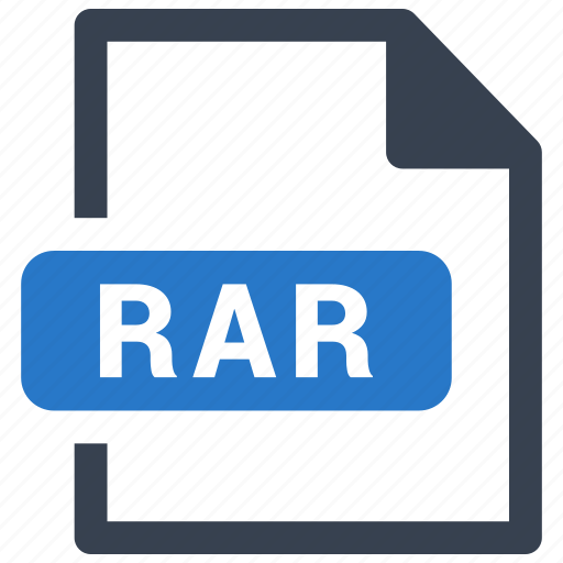 file, format, rar icon