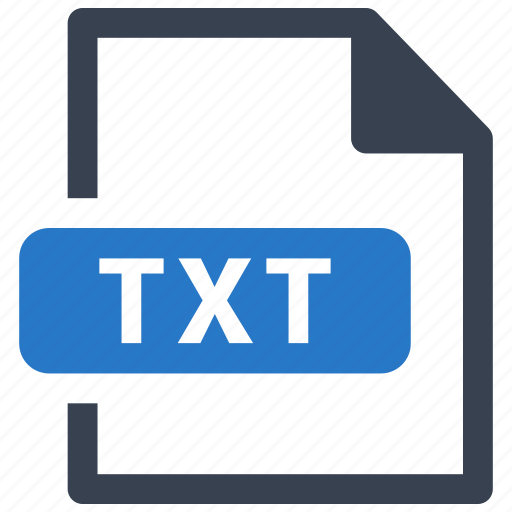 File, format, txt icon - Download on Iconfinder