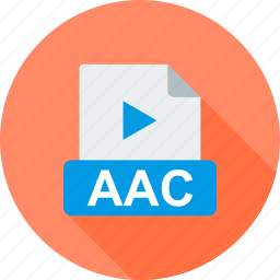 aac, audio, file, format, interface, wav icon