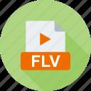 document, download, file, flv, format, movie, multimedia