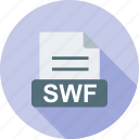 computer, document, download, file, format, swf