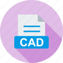 cad, document, file, file extension, file type, format