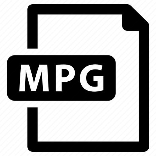 file, format, mpg icon