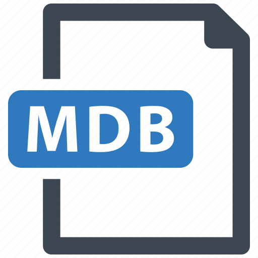 data base, db, file, mdb icon