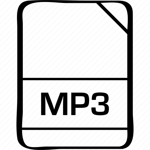 file, mp3, name icon