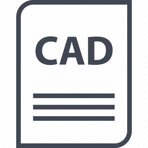 cad, document, extension, file, name, page icon