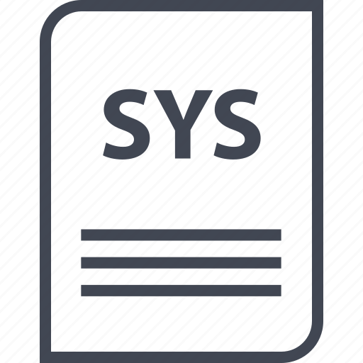 document, extension, file, name, page, sys icon