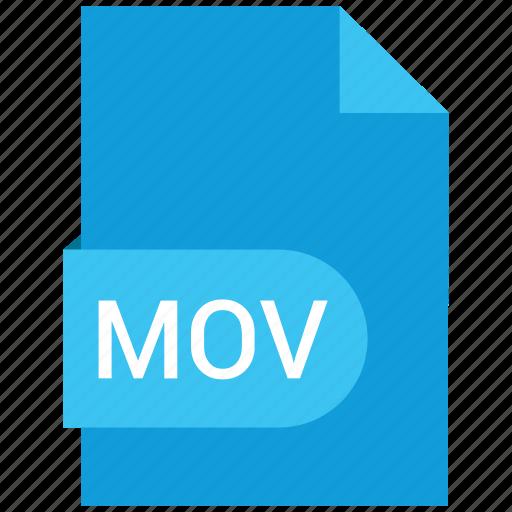 Video, mov, file icon