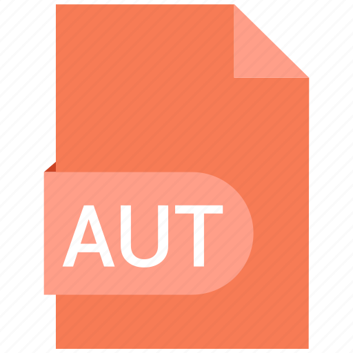 Aut, document, extension, name icon - Download on Iconfinder