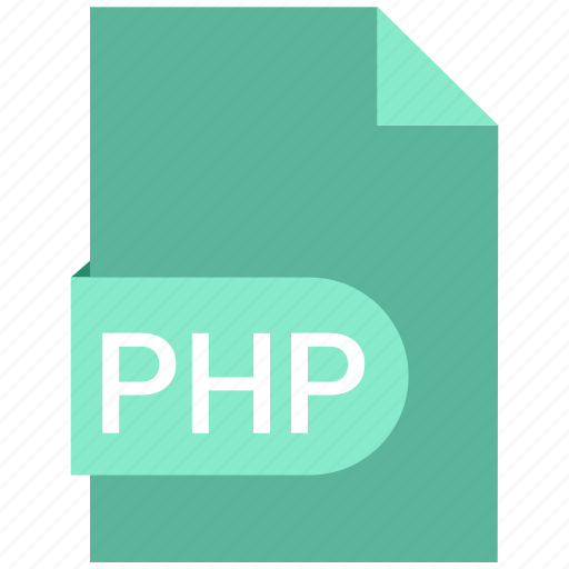 code, document, php icon