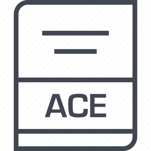 ace, document, file, name icon