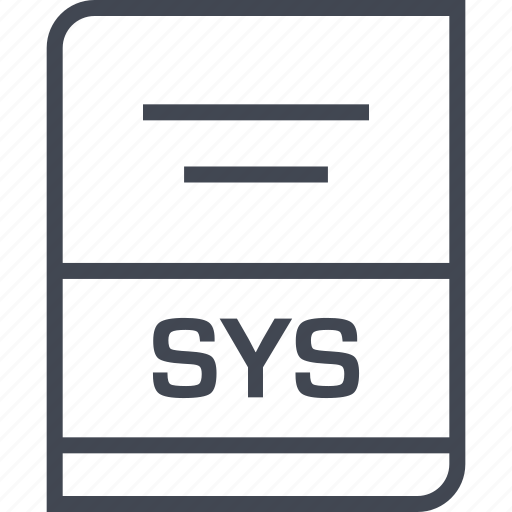 document, file, name, sys icon