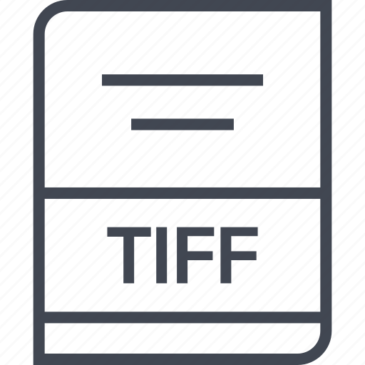 document, file, name, tiff icon